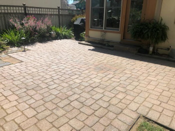 After paver restoration Image