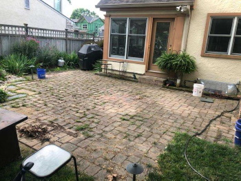 Before paver restoration Image