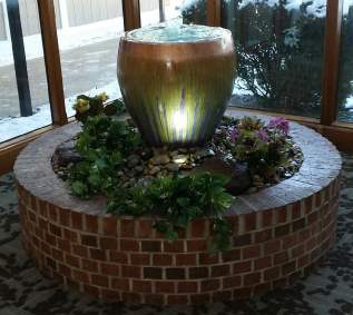 Indoor fountain complete